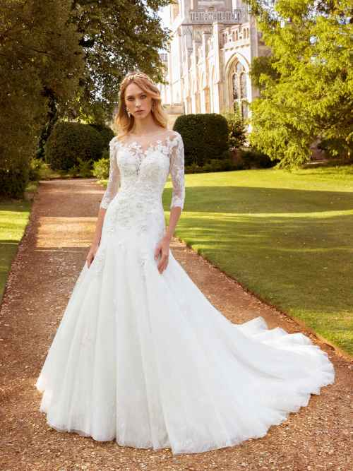Ellis Bridals Nadia Front Wedding Dress
