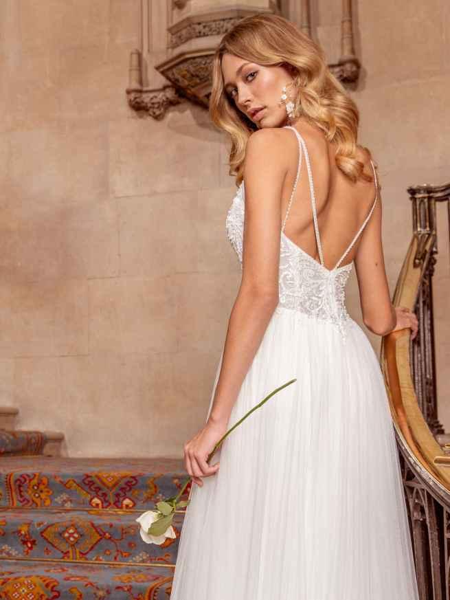 Ellis Bridals Sassi Back Wedding Dress