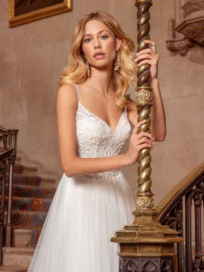 Ellis Bridals Sassi Front Wedding Dress