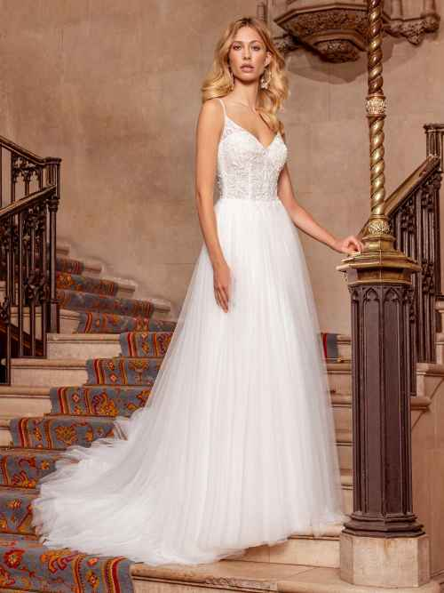 Ellis Bridals Sassi Front Wedding Dress