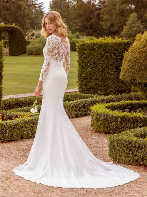 Ellis Bridals Sophia Back Wedding Dress
