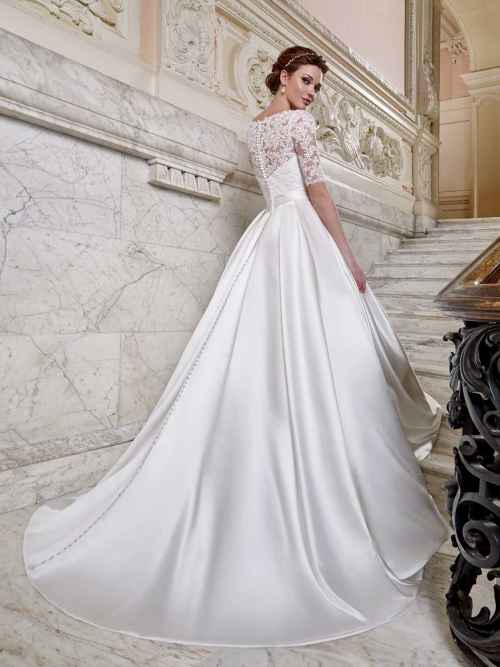 Ellis Bridals Tiffany Back Wedding Dress