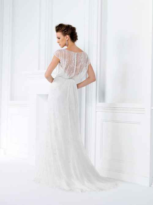 Jasmine Collection F161020 Back Wedding Dress