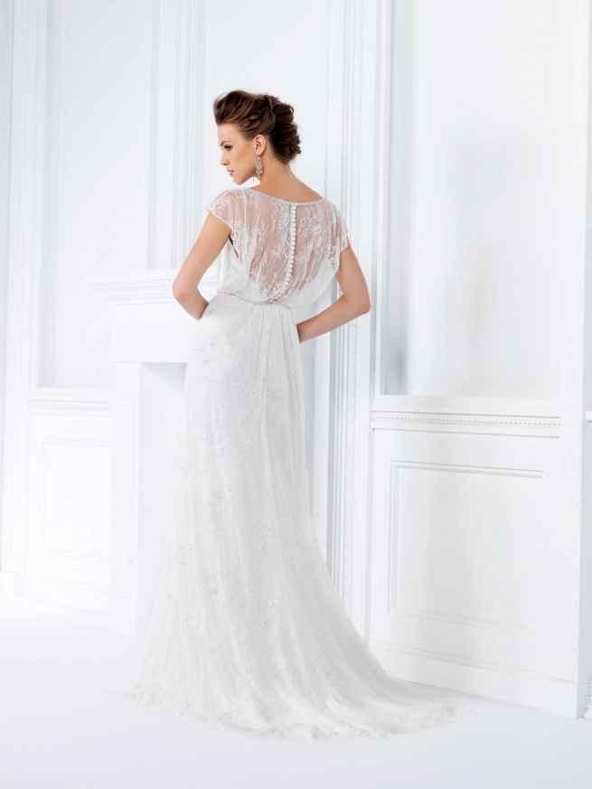 Jasmine Collection F161020 Back Wedding Dress
