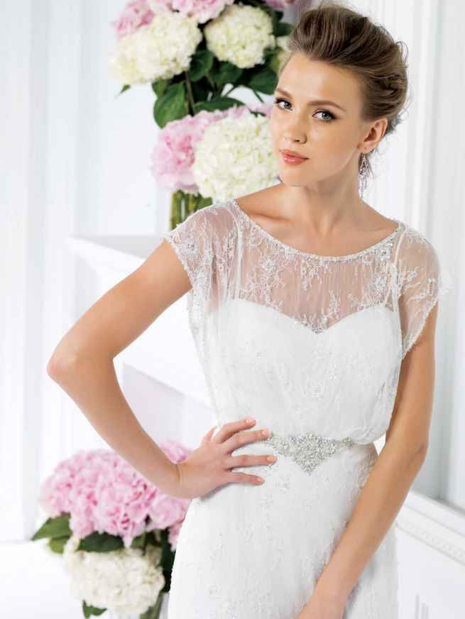 Jasmine Collection F161020 Frornt Wedding Dress