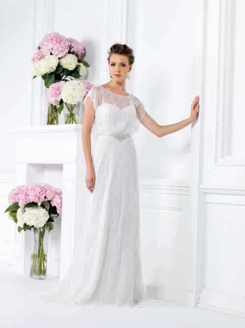 Jasmine Collection F161020 Front Wedding Dress