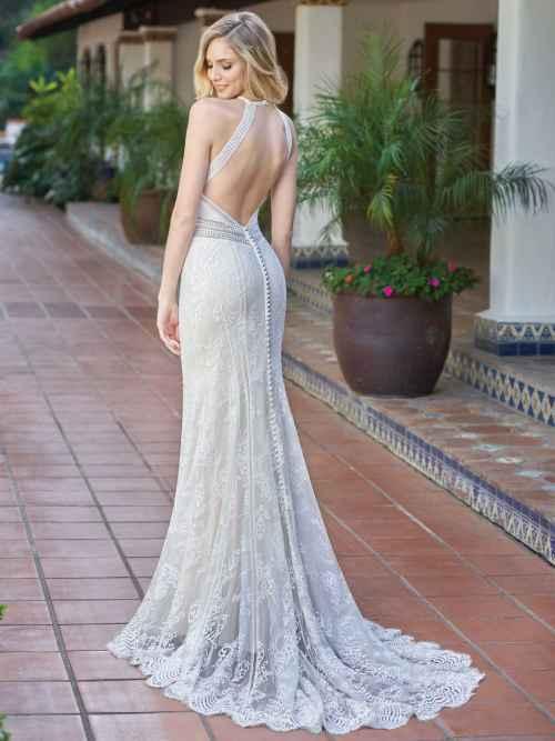 Jasmine Collection F201056 Back 2 Wedding Dress