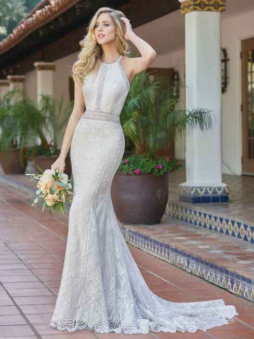 Jasmine Collection F201056 Front 2 Wedding Dress at Sass & Grace Bridal Boutique