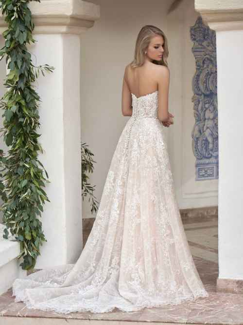 Jasmine Couture T202062 Back Wedding Dress