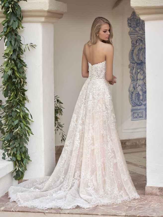 Jasmine Couture T202062 Back Wedding Dress