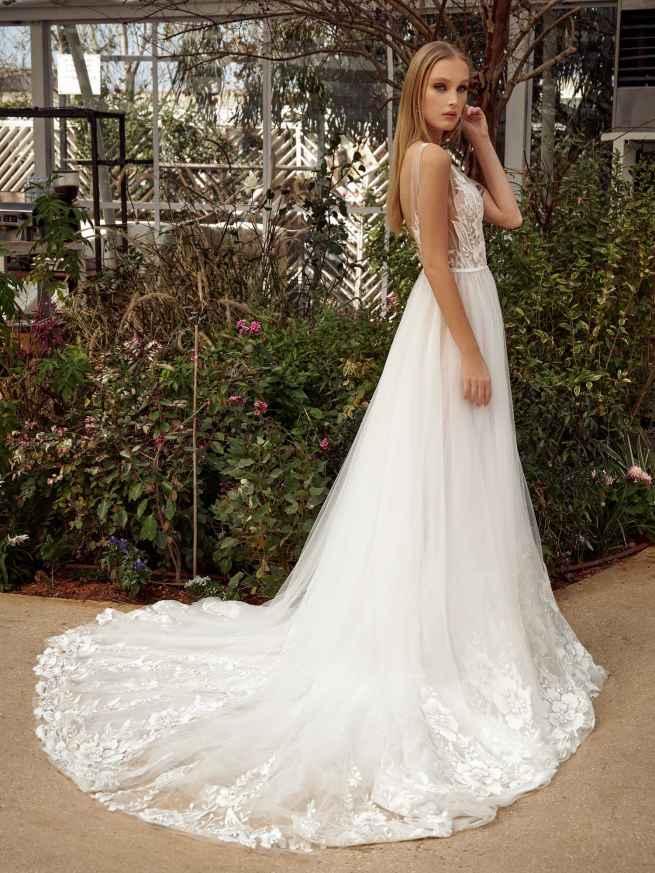 Julie Vino Anis MB21-2 Back Wedding Dress
