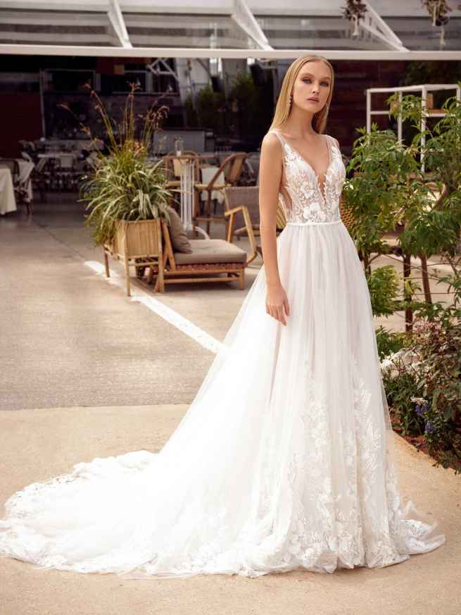 Julie Vino Anis MB21-2 Back Wedding Dress