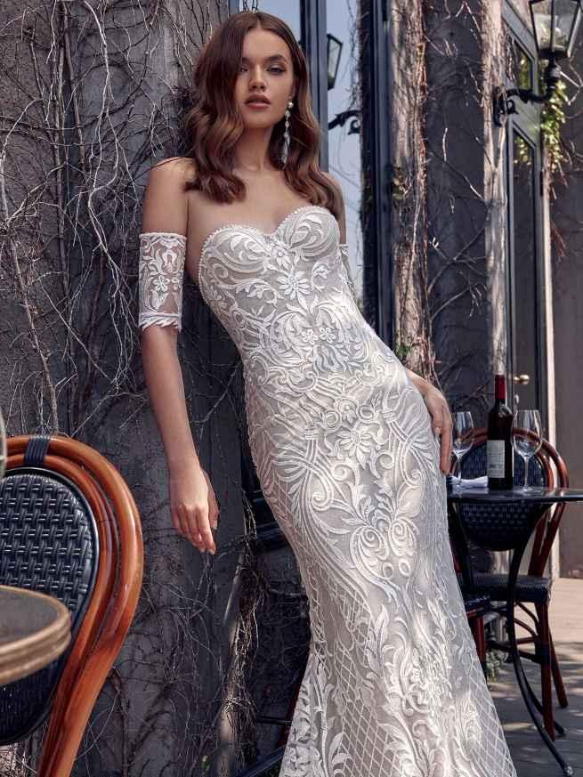 Julie Vino Caroline 1953 Front Wedding Dress