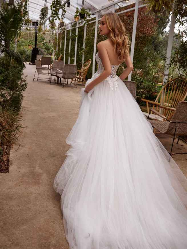 Julie Vino Clare MB21-4 Back Wedding Dress