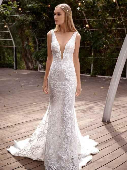 Julie Vino Julie MB21-1 Front Wedding Dress