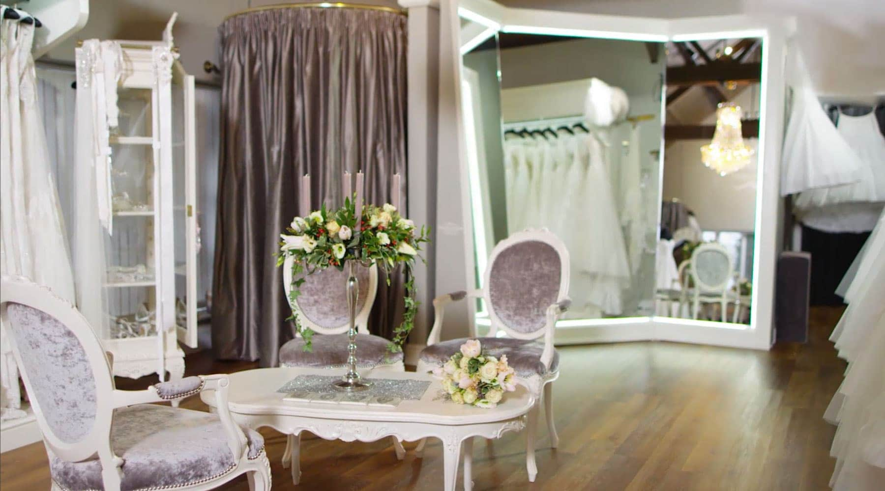 Sass and Grace Bridal Boutique shop sneak peek