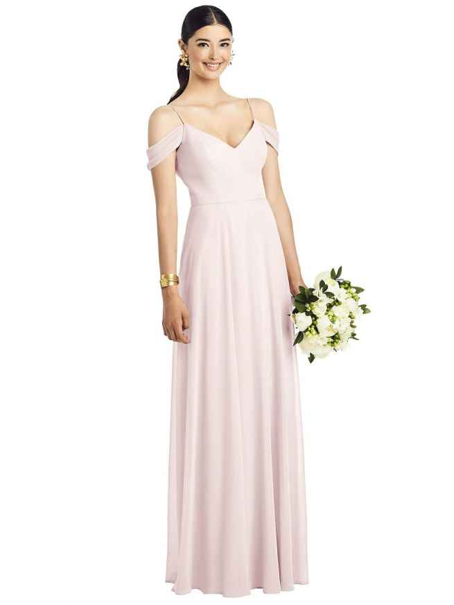 Dessy 1526 Front Bridesmaids Dress Sass and Grace Bridal