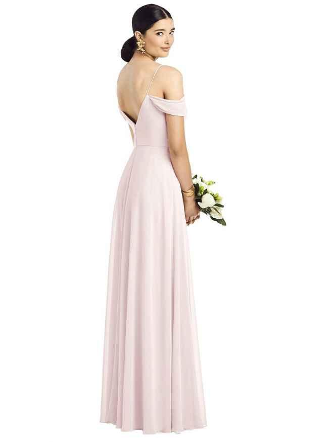 Dessy 1526 Rear Bridesmaids Dress Sass and Grace Bridal