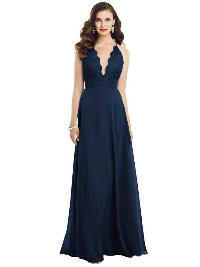 Dessy 3054 Front Bridesmaids Dress Sass and Grace Bridal