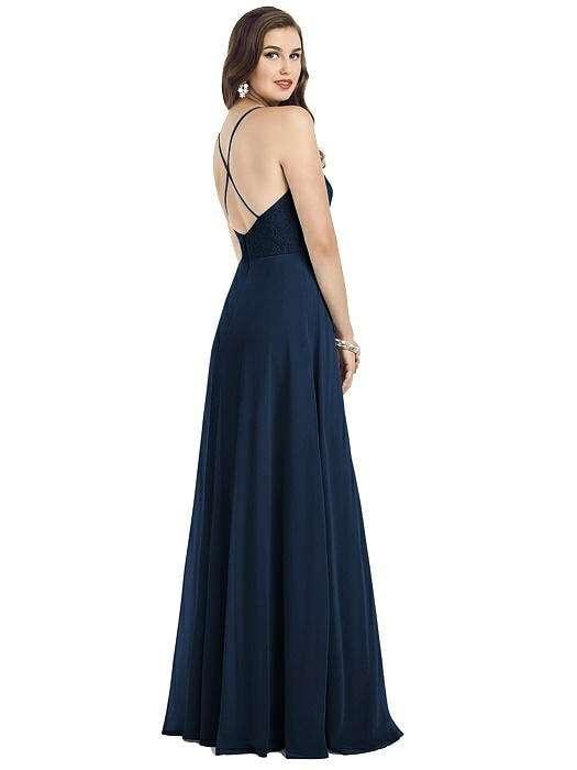 Dessy 3054 Rear Bridesmaids Dress Sass and Grace Bridal