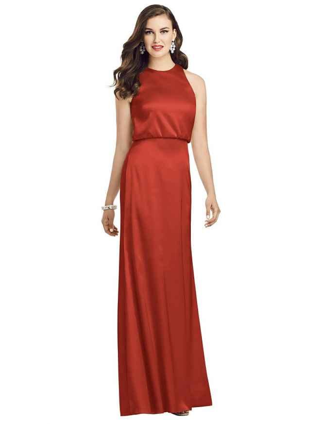 Dessy 3055 Front Bridesmaids Dress Sass and Grace Bridal
