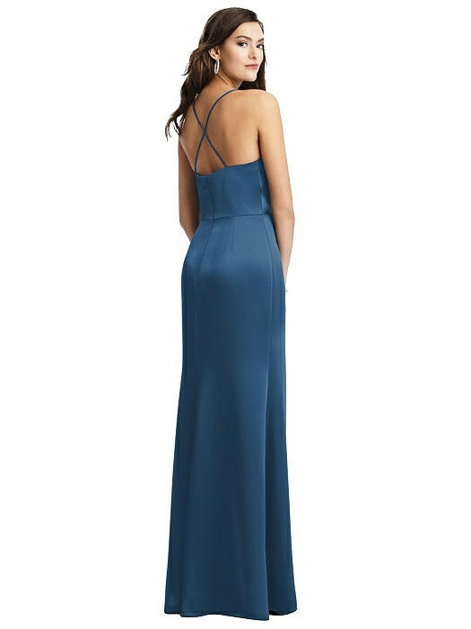 Dessy 3056 Rear Bridesmaids Dress Sass and Grace Bridal