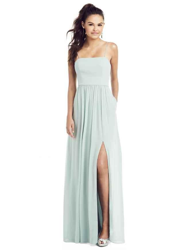 Dessy TH017 Front Bridesmaids Dress Sass and Grace Bridal