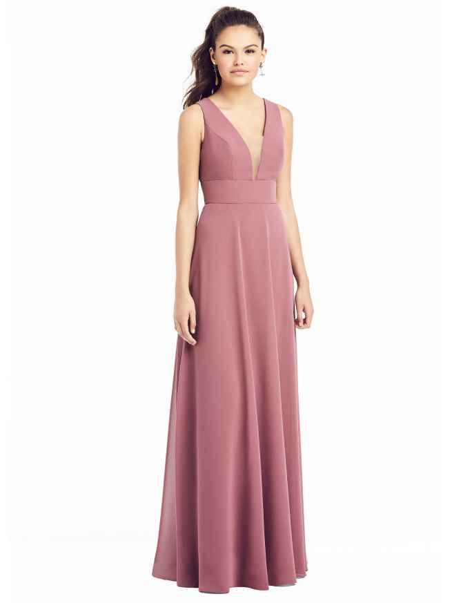 Dessy TH019 Front Bridesmaids Dress Sass and Grace Bridal