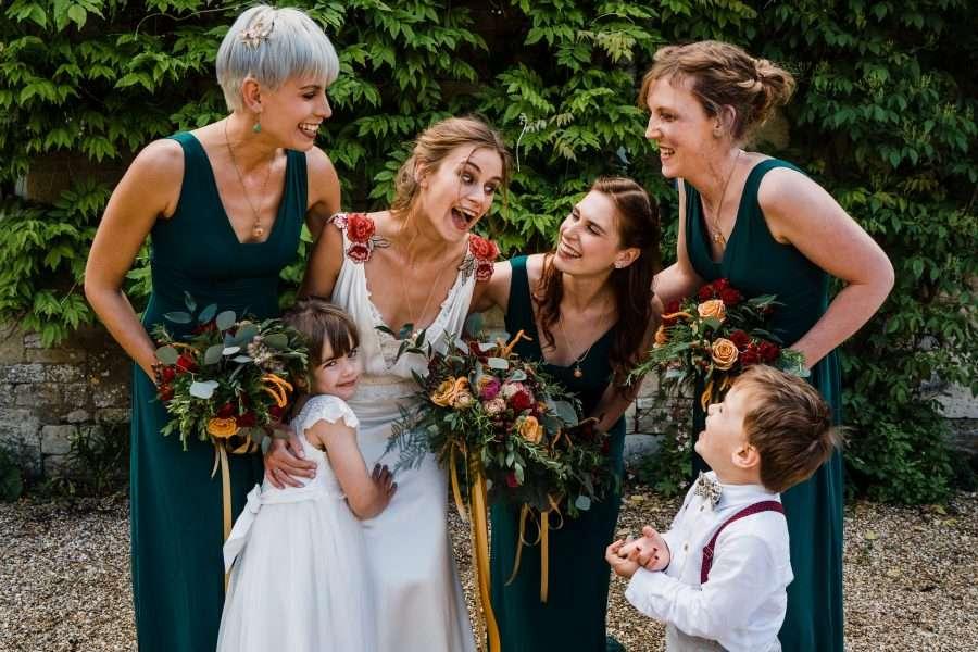 Jo marries Matt in a bespoked Annasul Y wedding dress