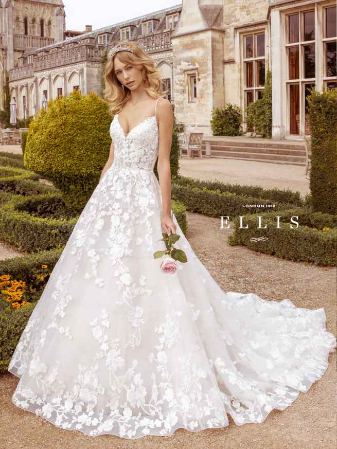 Ellis Beau 16318 Front Wedding Dress Sass & Grace Bridal
