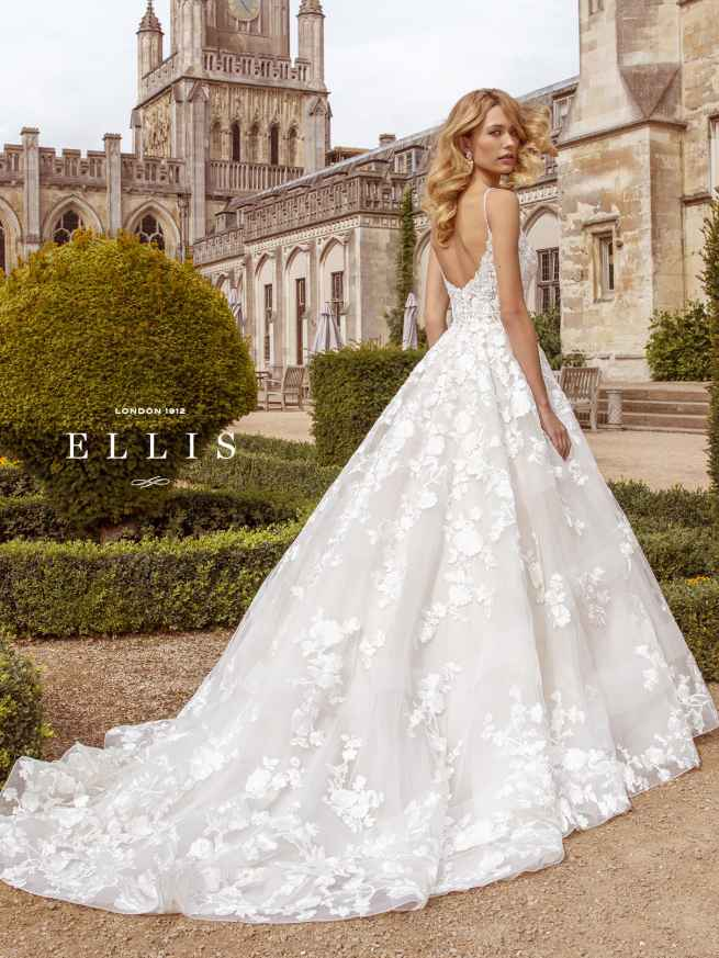 Ellis Beau 16318 Back Wedding Dress Sass & Grace Bridal