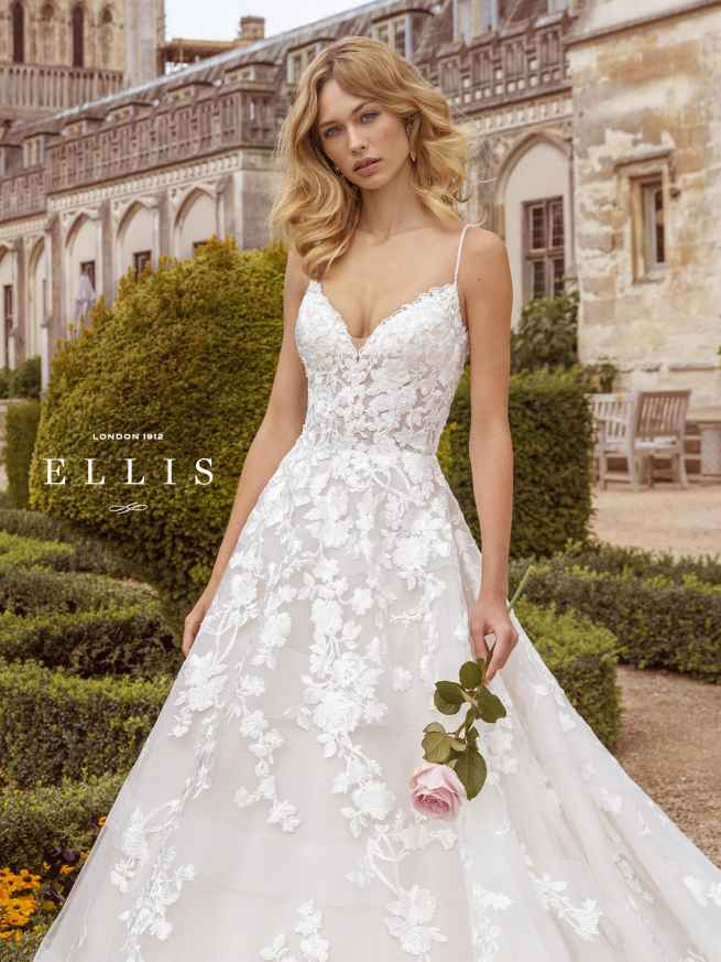 Ellis Beau 16318 Front 3 Wedding Dress Sass & Grace Bridal