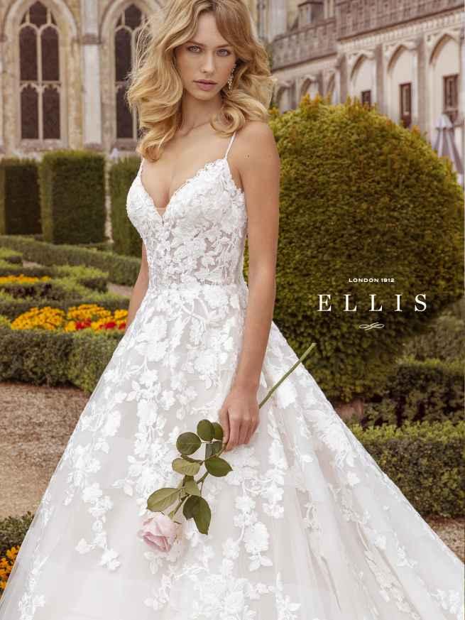 Ellis Beau 16318 Front 4 Wedding Dress Sass & Grace Bridal