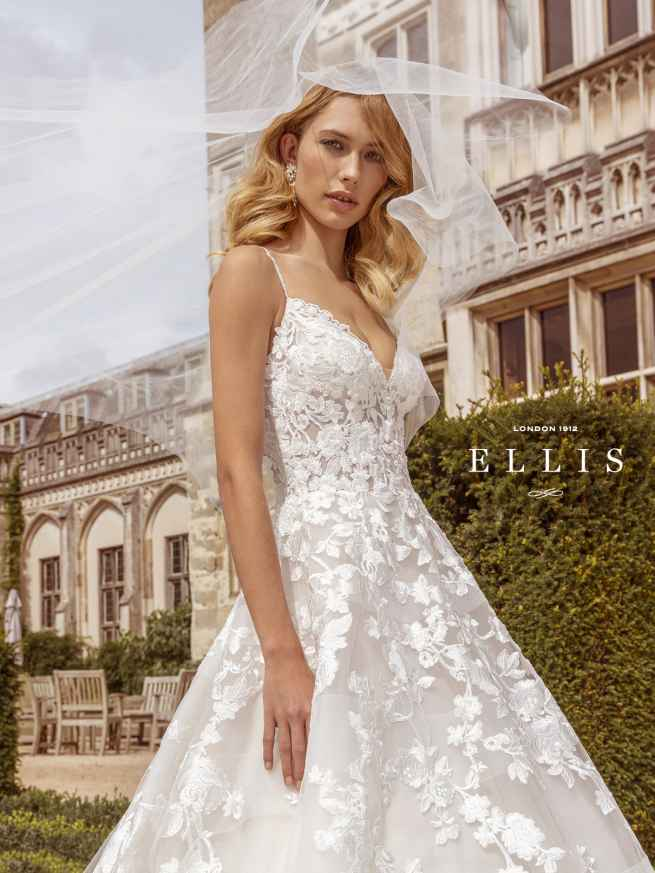 Ellis Beau 16318 Front 5 Wedding Dress Sass & Grace Bridal