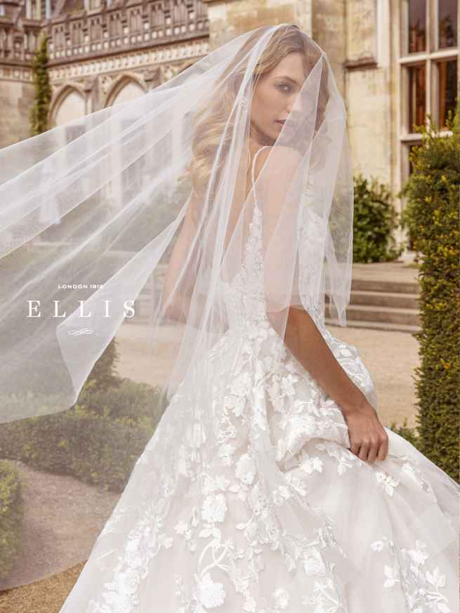 Ellis Beau 16318 Veil Wedding Dress Sass & Grace Bridal