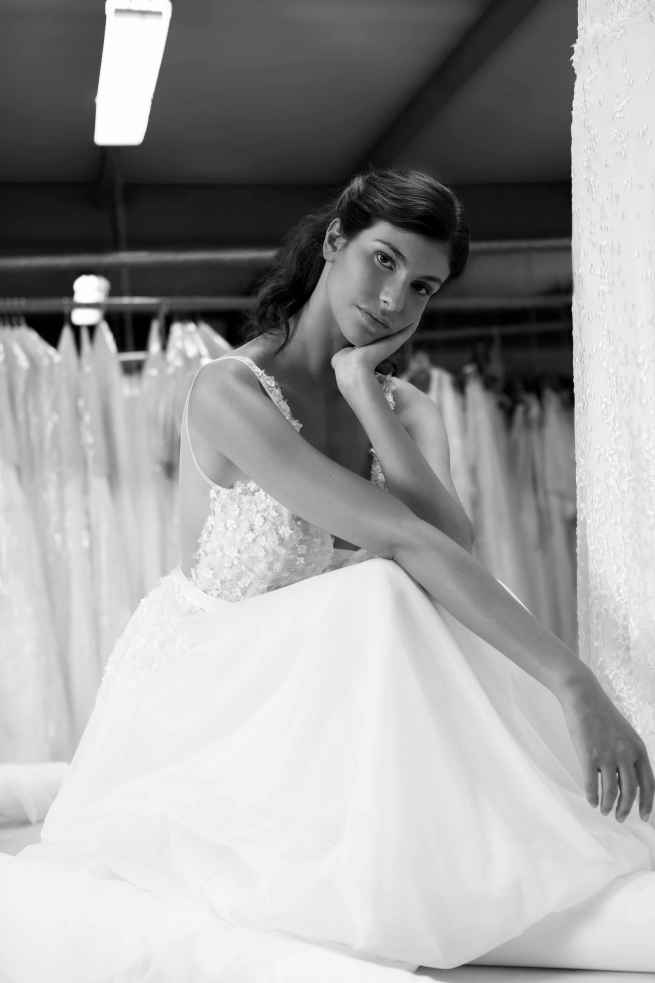 Cymbeline Figue Front Wedding Dress Sass and Grace Bridal
