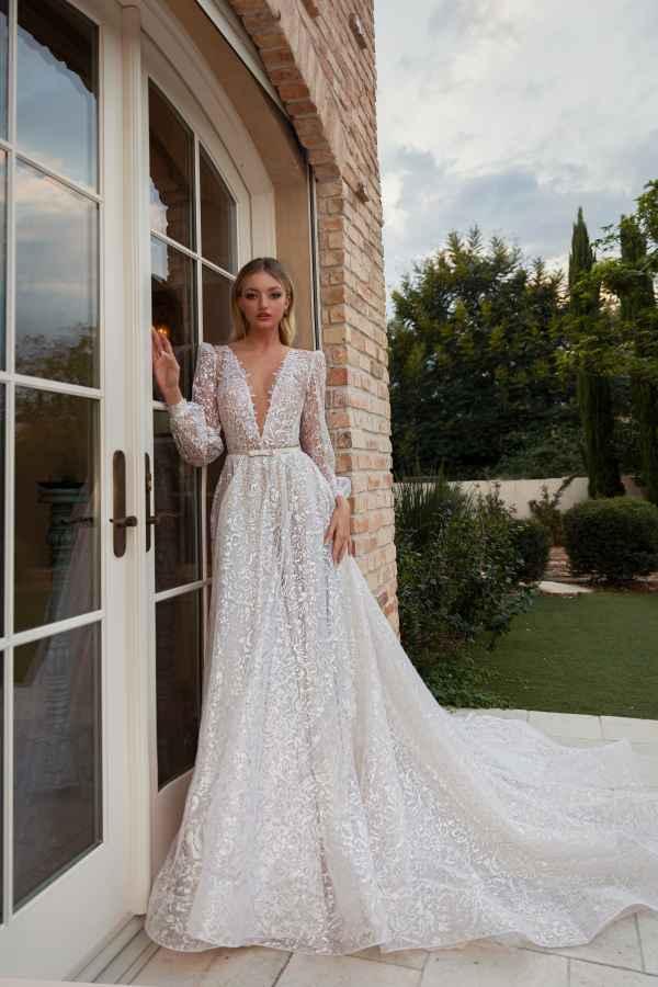 Julie Vino 2051 wedding dress at Sass & Grace Bridal Boutique