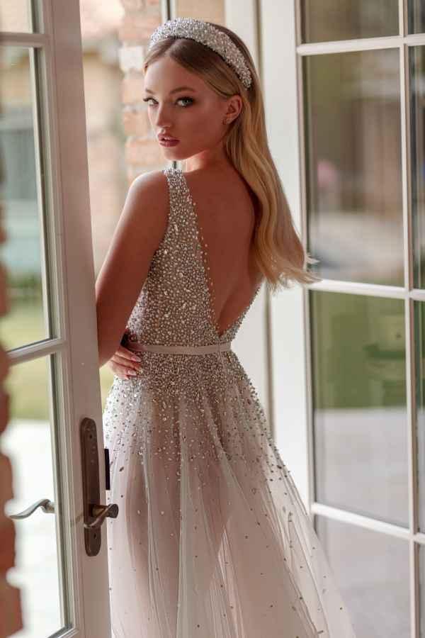 Julie Vino 2059 wedding dress at Sass & Grace Bridal Boutique