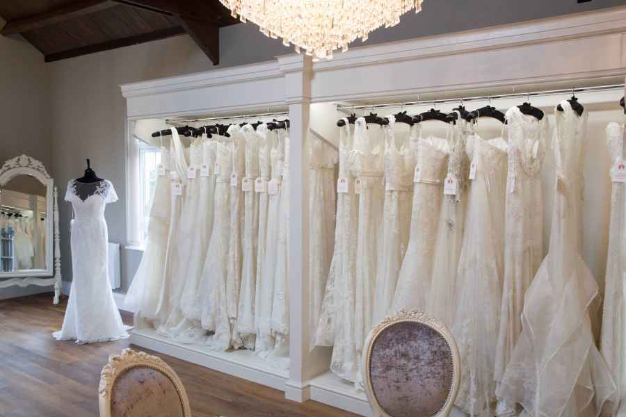 Sass and Grace Bridal Experience inside our beautiful boutique