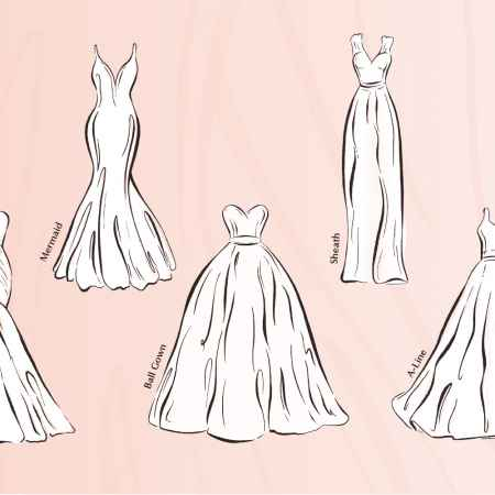 Sass & Grace Wedding Dress Silhouettes