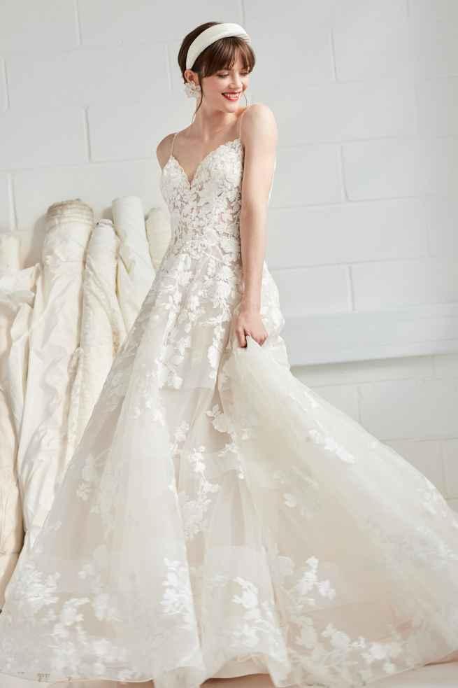 Ellis Bridals Beau 16318 Front Wedding Dress Sass and Grace Bridal