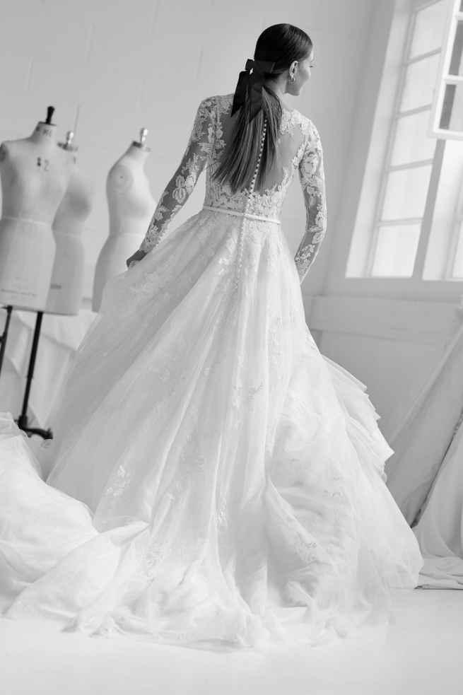 Ellis Bridals Celeste 11774 Back Wedding Dress
