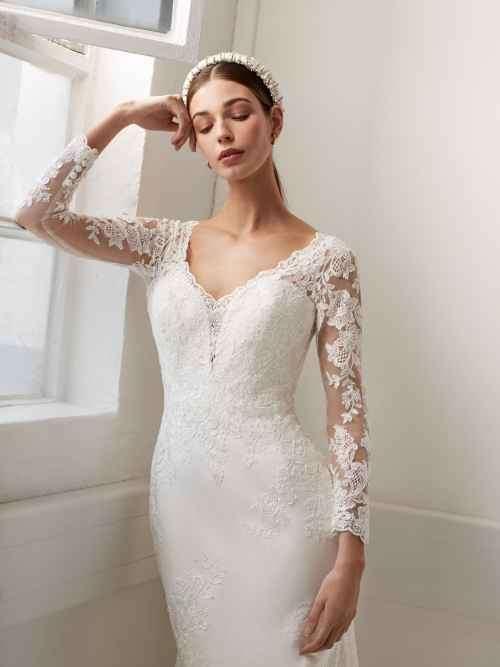 Ellis Bridals Sophia 11776 Front Wedding Dress Sass and Grace Bridal