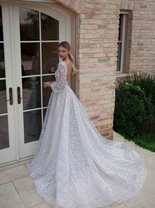 Julie Vino Rose 2051 Back Wedding Dress