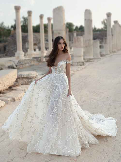 Julie Vino Paolina 2107 Front Wedding Dress