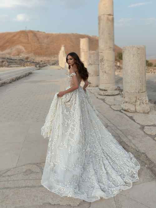 Julie Vino Paolina 2107 Back Wedding Dress