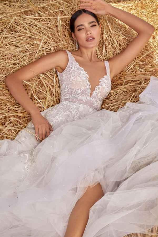 Julie Vino 2159 wedding dress at Sass & Grace Bridal Boutique