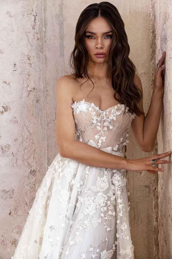 Julie Vino 2201 wedding dress at Sass & Grace Bridal Boutique