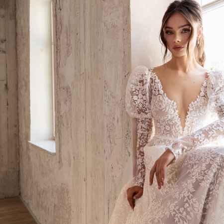 Julie Vino 2205 wedding dress at Sass & Grace Bridal Boutique