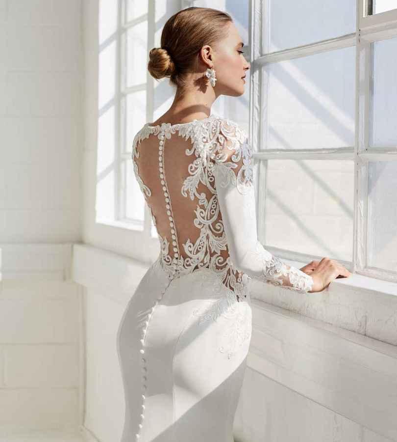 Ellis Bridals Scarlett 11832A Back Wedding Dress Sass and Grace Bridal